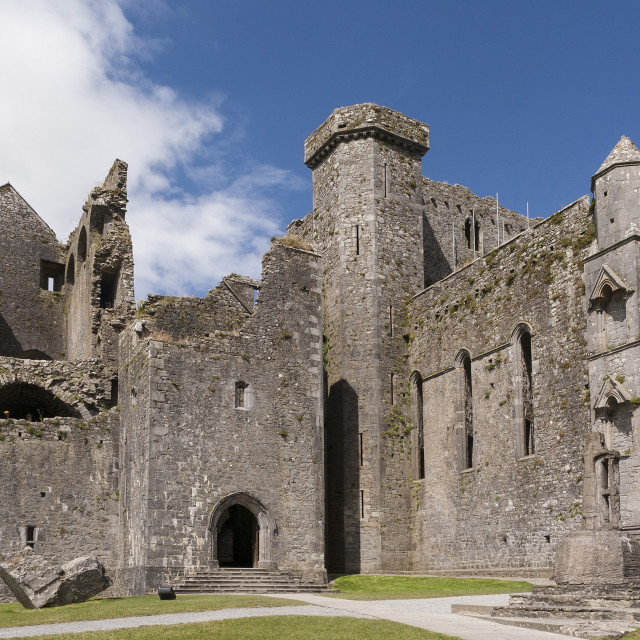 """Rock of Cashel, County Tipperary, Munster, Republic of Ireland, Europe"" stock image"