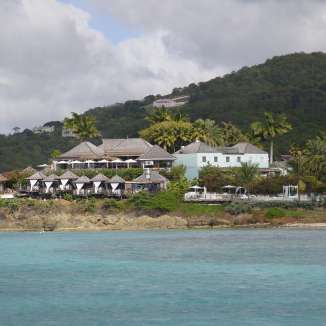 """West coast, Antigua, Leeward Islands, West Indies, Caribbean, Central America"" stock image"