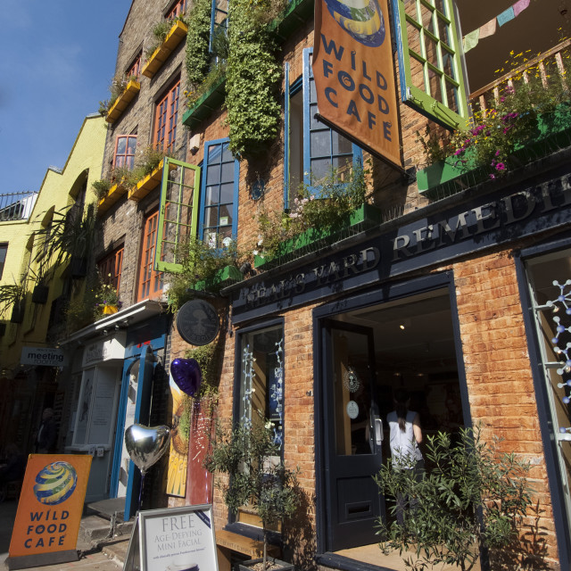 """Neal's Yard, London, WC2, Entgand, United Kingdom, Europe"" stock image"