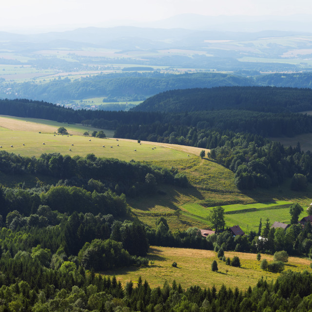 """Gory Stolowe National Park, Silesia, Poland, Europe"" stock image"