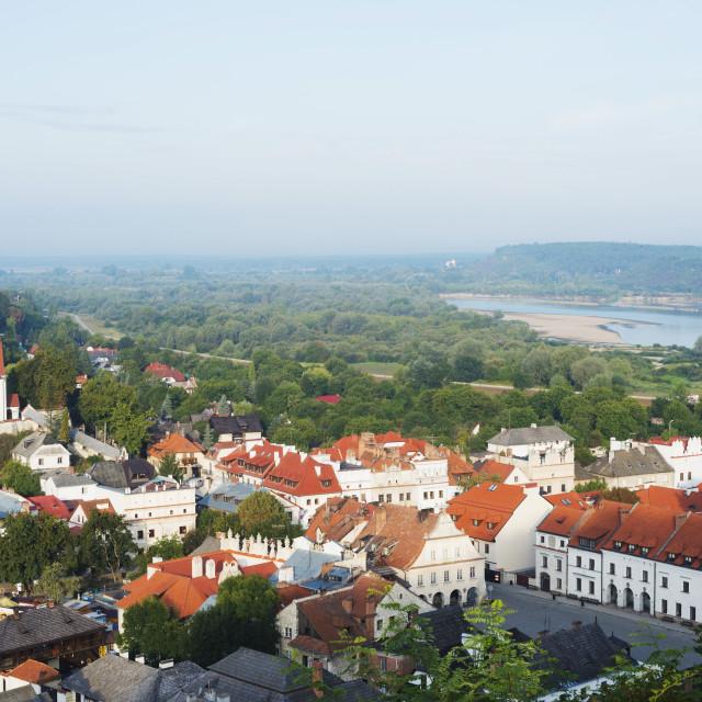 """""""Old town of Kazimierz Dolny, Poland, Europe"""" stock image"""