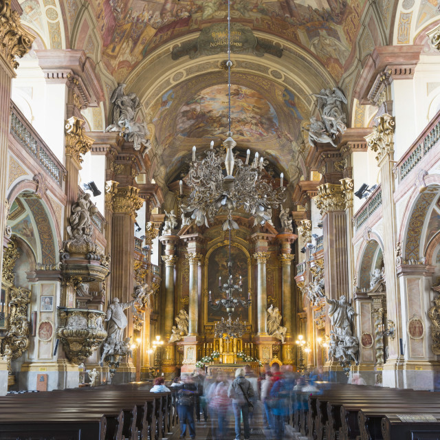 """""""Church of the Holy Name of Jesus, Wroclaw, Silesia, Poland, Europe"""" stock image"""