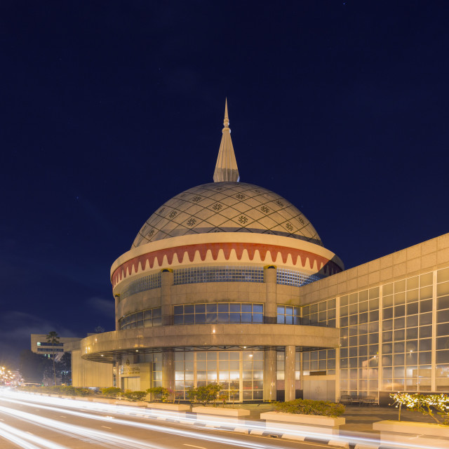 """Royal Regalia Museum, Bandar Seri Begawan, Brunei, Borneo, Southeast Asia, Asia"" stock image"