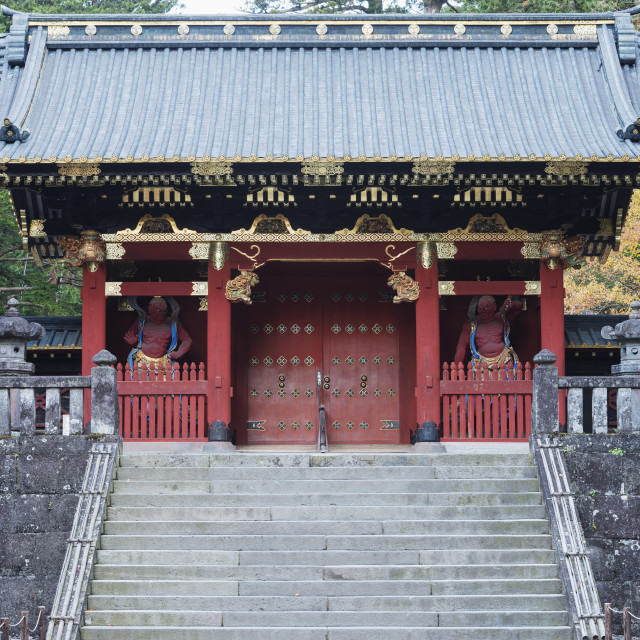 """Nikko shrine, UNESCO World Heritage Site, Tochigi Prefecture, Honshu, Japan,..."" stock image"