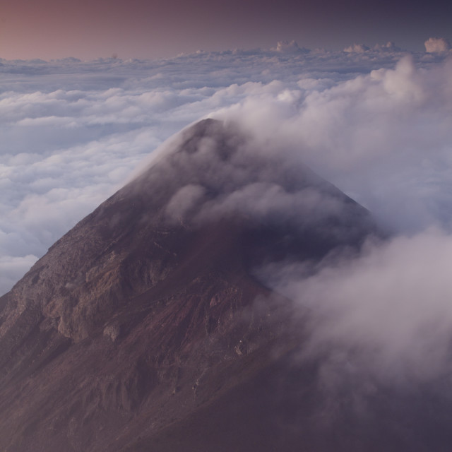 """Volcan Fuego, Guatemala, Central America"" stock image"