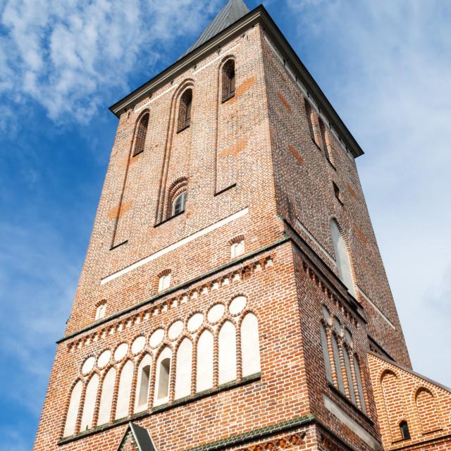 """""""St. John's Church (Jaani kirik), Tartu, Estonia, Baltic States, Europe"""" stock image"""