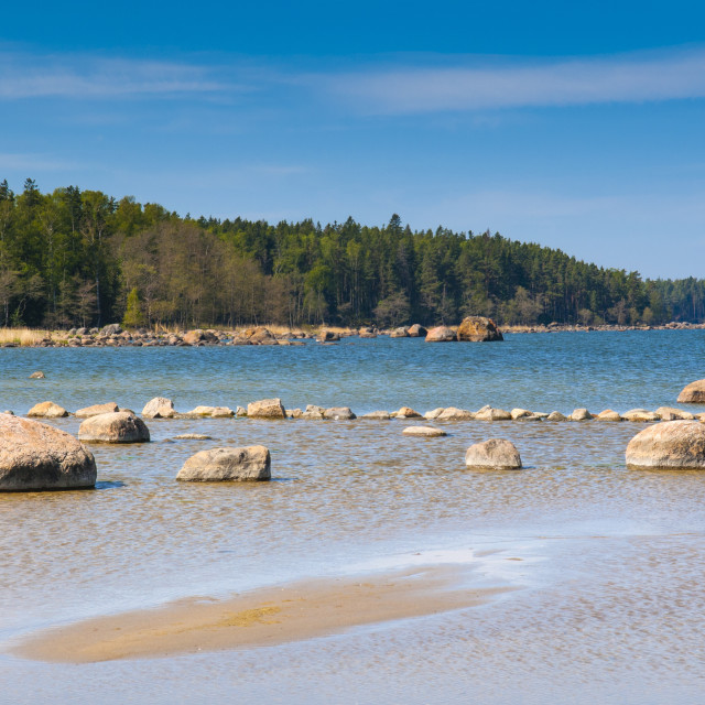 """Baltic Sea, Vana-Juri Ots, Laane-Virumaa, Estonia, Baltic States, Europe"" stock image"