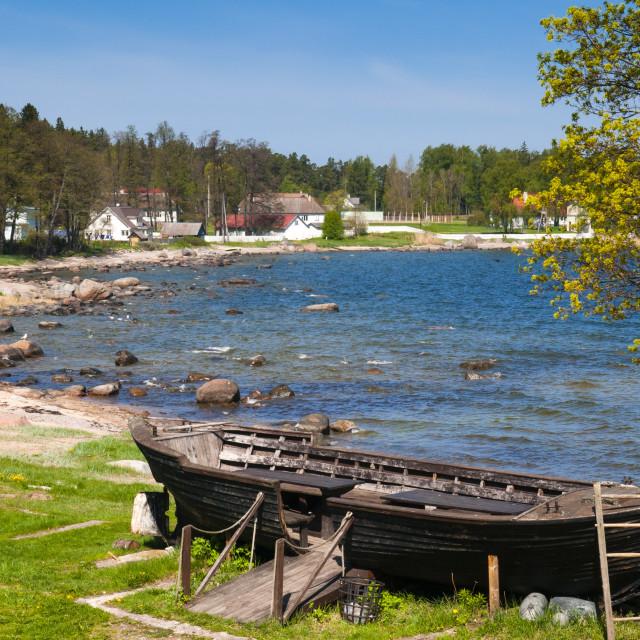 """""""Baltic Sea, Kasmu, Laane-Virumaa, Estonia, Baltic States, Europe"""" stock image"""