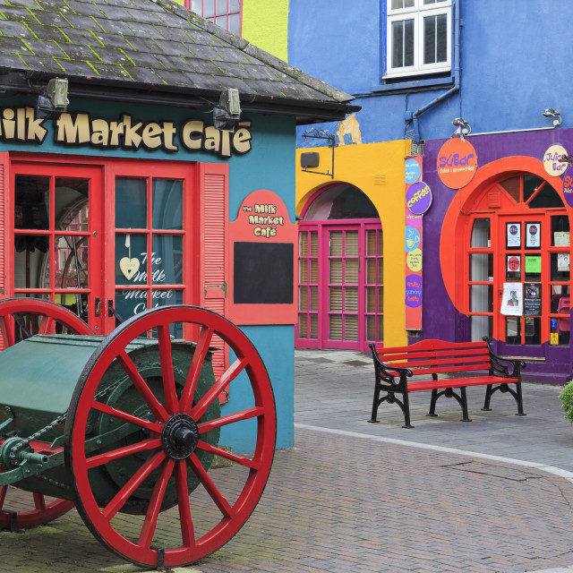 """Newman's Mall, Kinsale Town, County Cork, Munster, Republic of Ireland, Europe"" stock image"