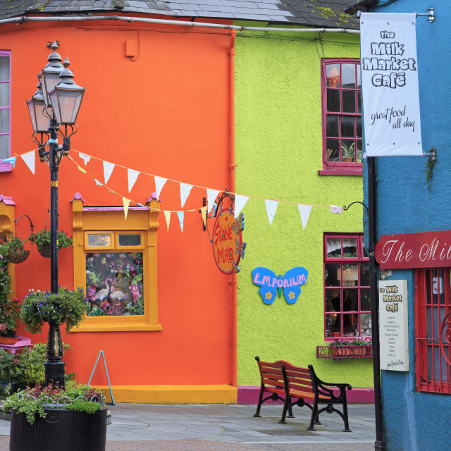 """""""Newman's Mall, Kinsale Town, County Cork, Munster, Republic of Ireland, Europe"""" stock image"""