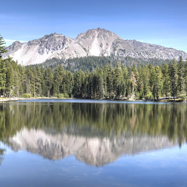 """Lassen Volcanic National Park, California, United States of America, North..."" stock image"