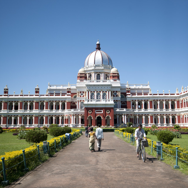 """Cooch Behar Palace (Victor Jubilee Palace) built in 1887 by Maharaja..."" stock image"