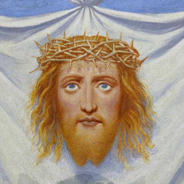 """The Veil of Veronica, Klosterneuburg Abbey, Lower Austria, Austria, Europe"" stock image"