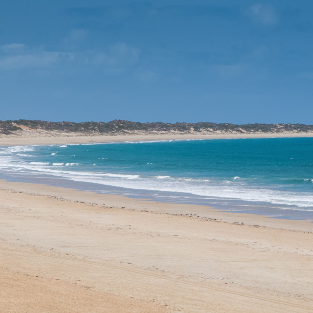 """Cable Beach, Broome, Western Australia, Australia, Pacific"" stock image"