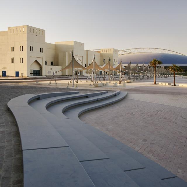 """Doha Sports City complex"" stock image"