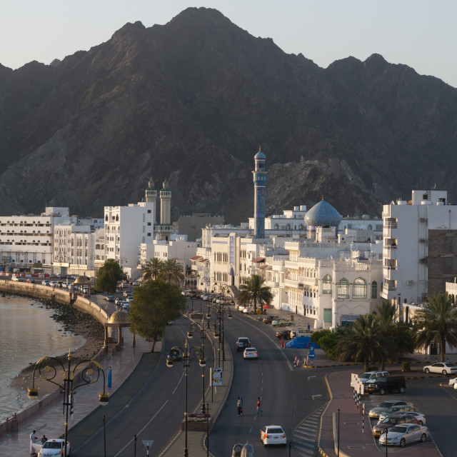 """Mutrah, Muscat, Oman, Middle East"" stock image"