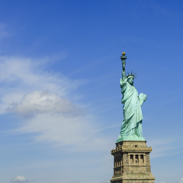 """Statue of Liberty, New York City, New York, United States of America, North..."" stock image"