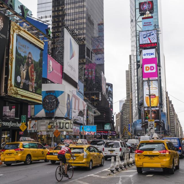 """Times Square, Theatre District, Midtown, Manhattan, New York City, New York,..."" stock image"