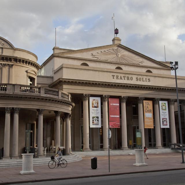 """The Solis theatre in Montevideo, Uruguay"" stock image"