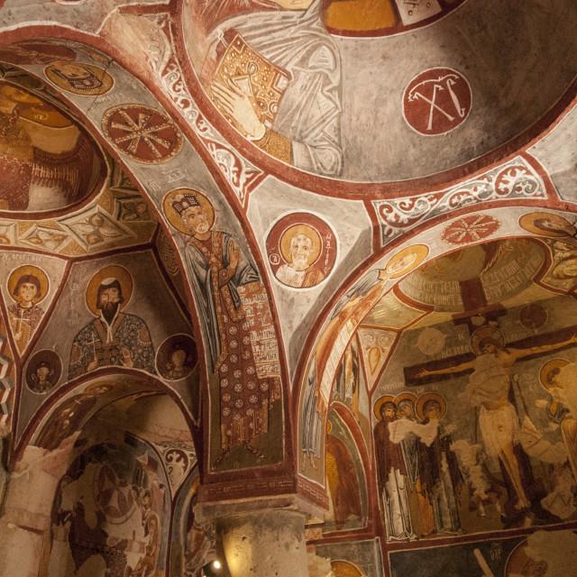 """Apple Church, Goreme, UNESCO World Heritage Site, Cappadocia, Anatolia,..."" stock image"