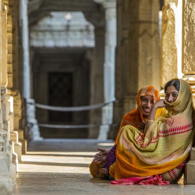 """""""Ranakpur Temple"""" stock image"""