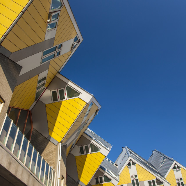 """Cube Houses"" stock image"