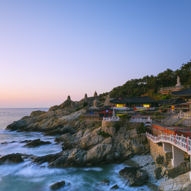 """Haedong Yonggungsa temple, Busan, South Korea, Asia"" stock image"