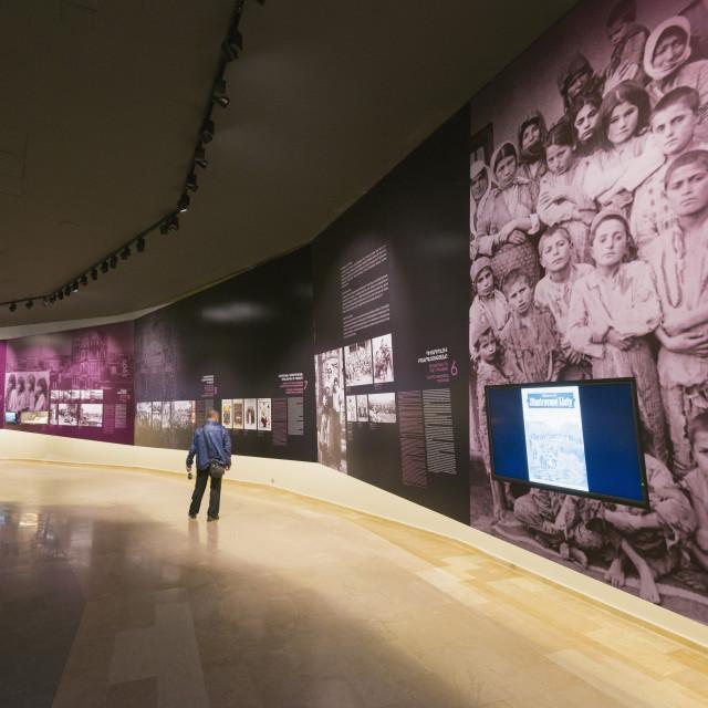 """Eurasia, Caucasus region, Armenia, Yerevan, genocide memorial museum"" stock image"