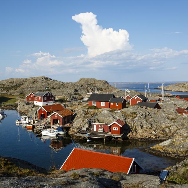 """Vaderoarna (The Weather Islands) archipelago, Bohuslan region, west coast,..."" stock image"