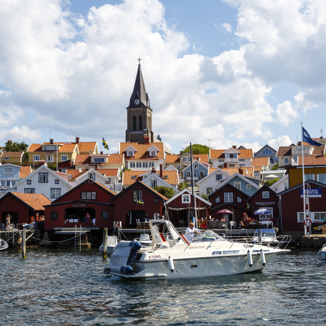 """Fjallbacka, Bohuslan region, west coast, Sweden, Scandinavia, Europe"" stock image"