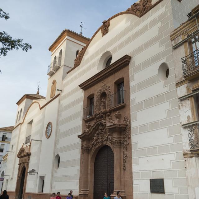 """""""Museo de Bordados del Paso Blanco (muBBla Museum), Lorca, Region of Murcia,..."""" stock image"""