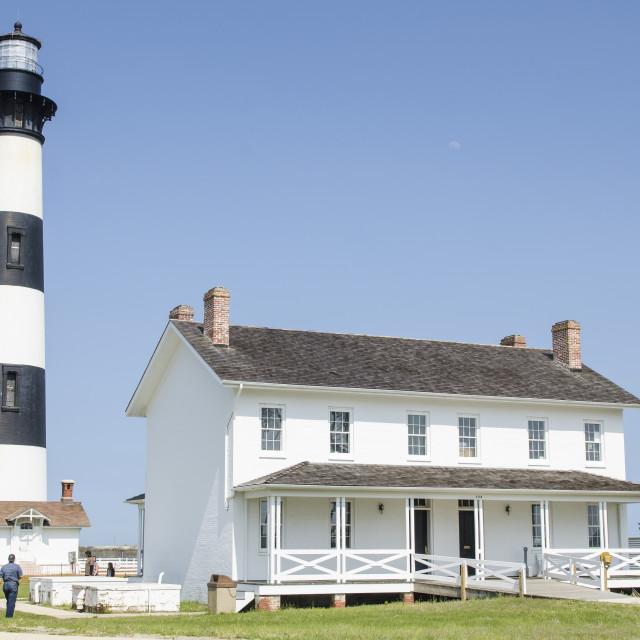 """Bodie Island Light Station, Outer Banks, North Carolina, United States of..."" stock image"