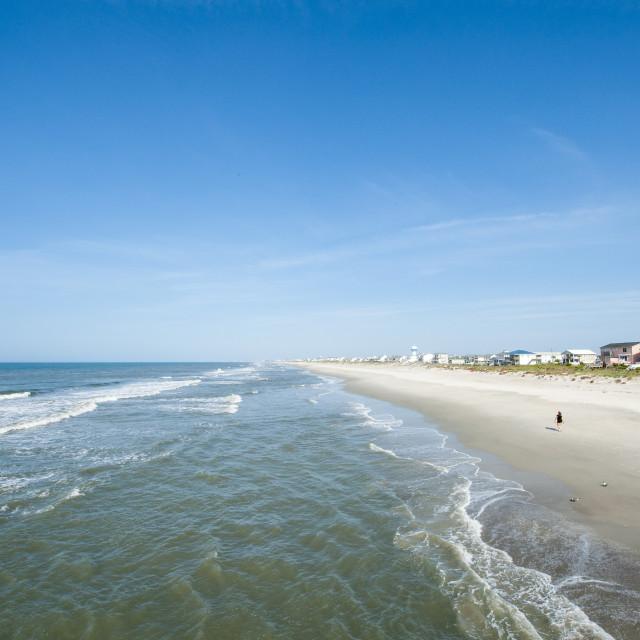 """Atlantic Beach, Outer Banks, North Carolina, United States of America, North..."" stock image"