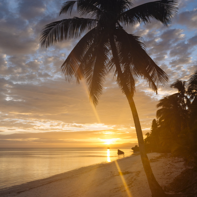 """Anda Beach, Bohol Island, Visayas, Philippines, Southeast Asia, Asia"" stock image"