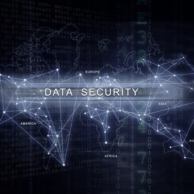 """Data Security"" stock image"
