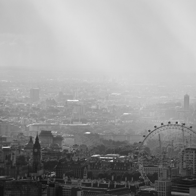 """""""Moody and Magical London"""" stock image"""