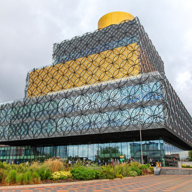 """The Library of Birmingham is a public library in Birmingham, Eng"" stock image"