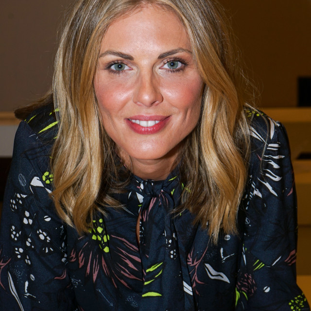 """""""Donna Air attend FASHION SCOUT SS18 Day One at Freemasons Hall"""" stock image"""