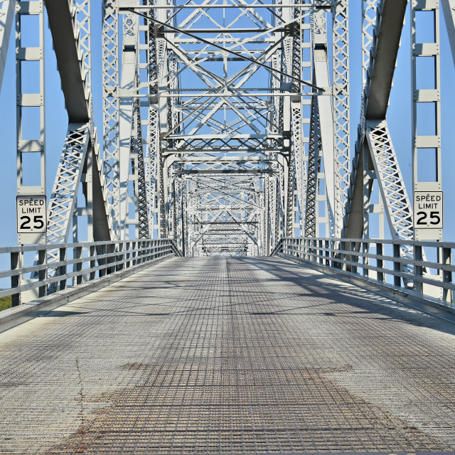 """Steel Bridge"" stock image"