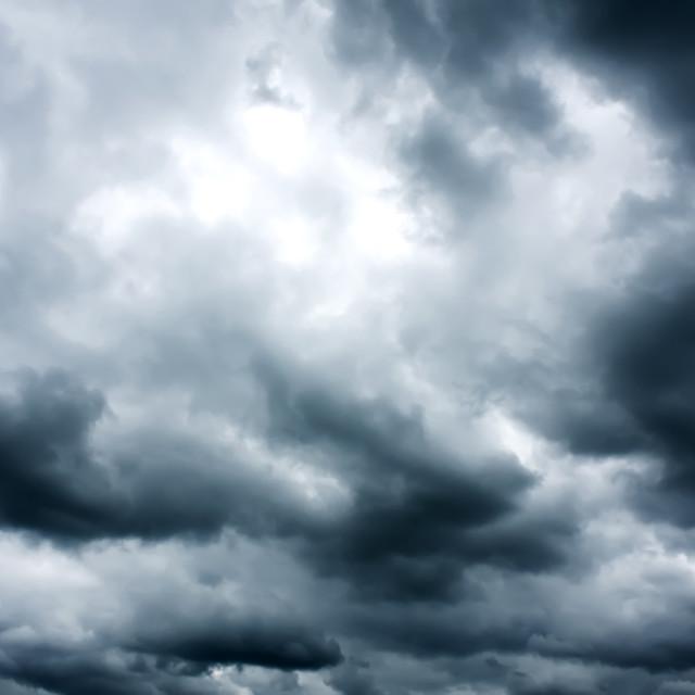 """Dark Sky"" stock image"