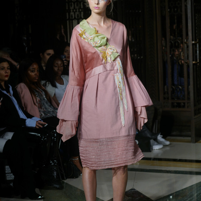 """""""Designer N&S GAIA Showcases lastest collection at FASHION SCOUT SS18 Day 3"""" stock image"""
