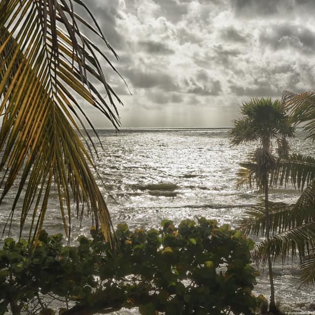 """""""Distant rain"""" stock image"""