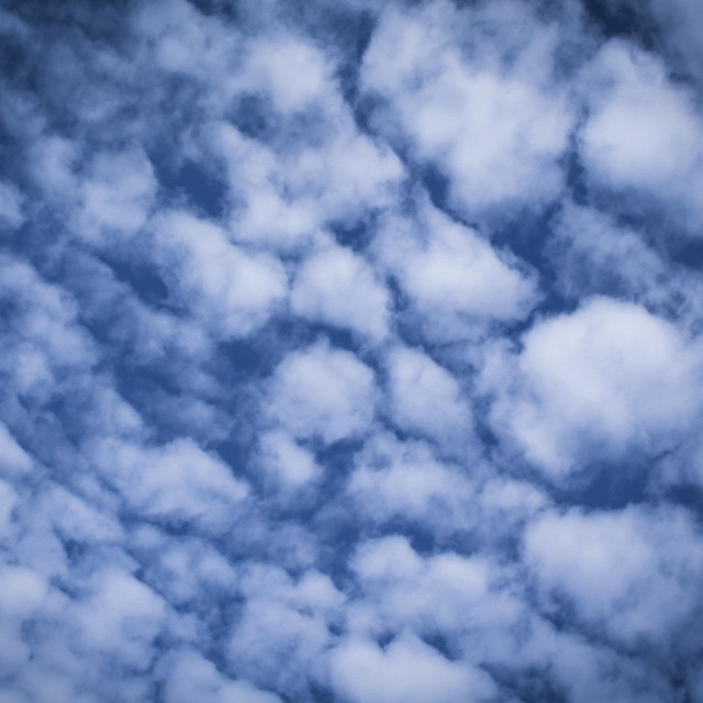 """Mackerel Sky"" stock image"