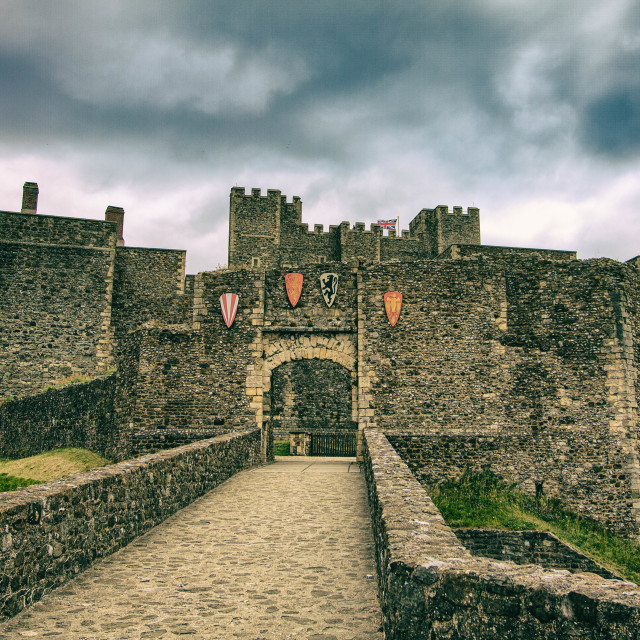 """Dover Castle"" stock image"