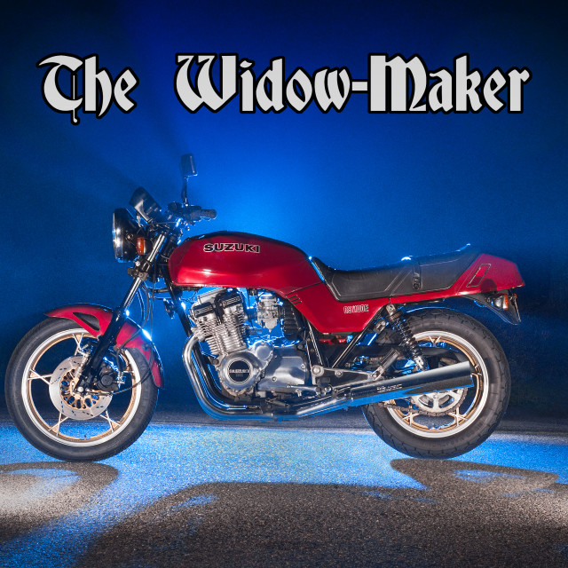 """Widow Maker motorcycle"" stock image"