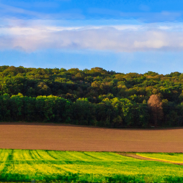 """Normandy Landscape"" stock image"
