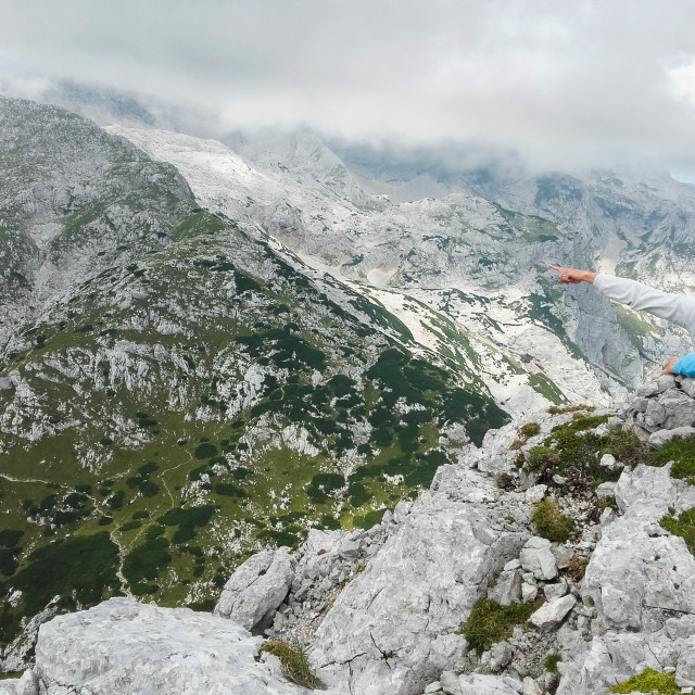 """""""Kamnik-Savinja Alps"""" stock image"""