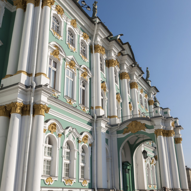 """Winter Palace; St. Petersburg, Russia"" stock image"