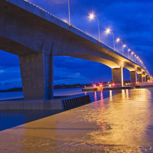 """Rupsha Bridge, Bangladesh"" stock image"