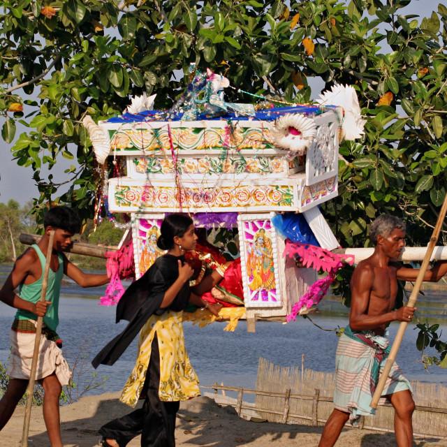 """Palanquin_Bangladesh"" stock image"